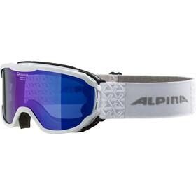 Alpina Pheos MM Goggles Kids white blue